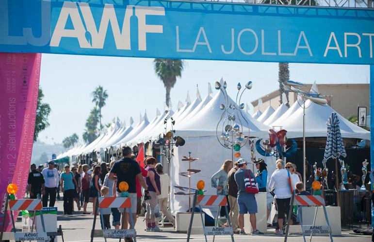 La Jolla Art and Wine Festival is Here
