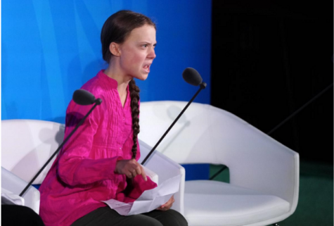 Greta Thunberg's Speech Regarding Climate Change