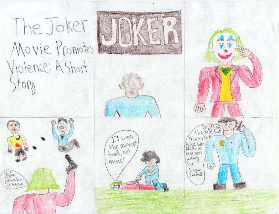 Joker Causes Violence