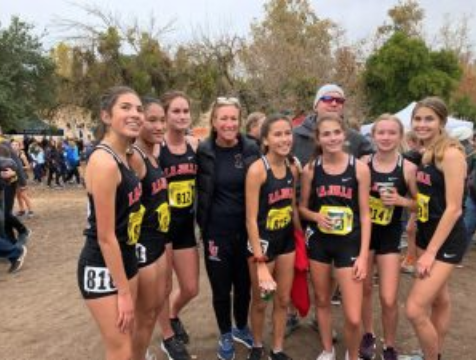 Girls Cross Country Soars to State