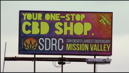Ban for Marijuana Billboards