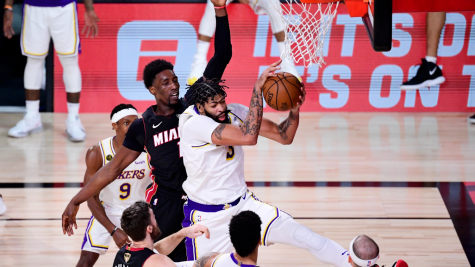 Photo via Douglas P. DeFelice / Getty Images Photo taken of  Anthony Davis grabbing a rebound during last seasons NBA Finals.