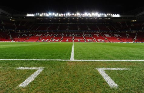Pitch at Old Trafford